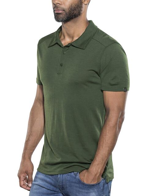 Lundhags Merino Light - Camiseta manga corta Hombre - Oliva